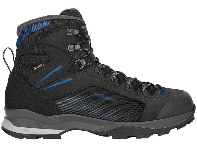 Lowa Vigo GTX Shoes Men black/blue